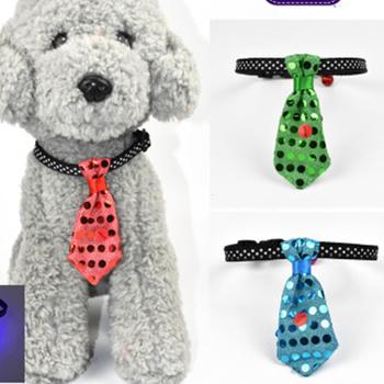 Pet Fashion krawat krawat dla psa kołnierz tkaniny krawat i muszka artykuły dla zwierząt psy akcesoria dla zwierząt artykuły dla zwierząt krawat dla psa akcesoria dla zwierząt tanie i dobre opinie jooyoo Ornaments Blue red yellow green cloth LJQ-281
