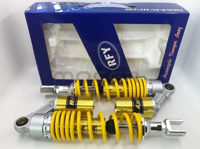 "13.5/"" 340mm Motorcycle Shock Absorbers Suspension For Honda Suzuki Kawasaki KTM"