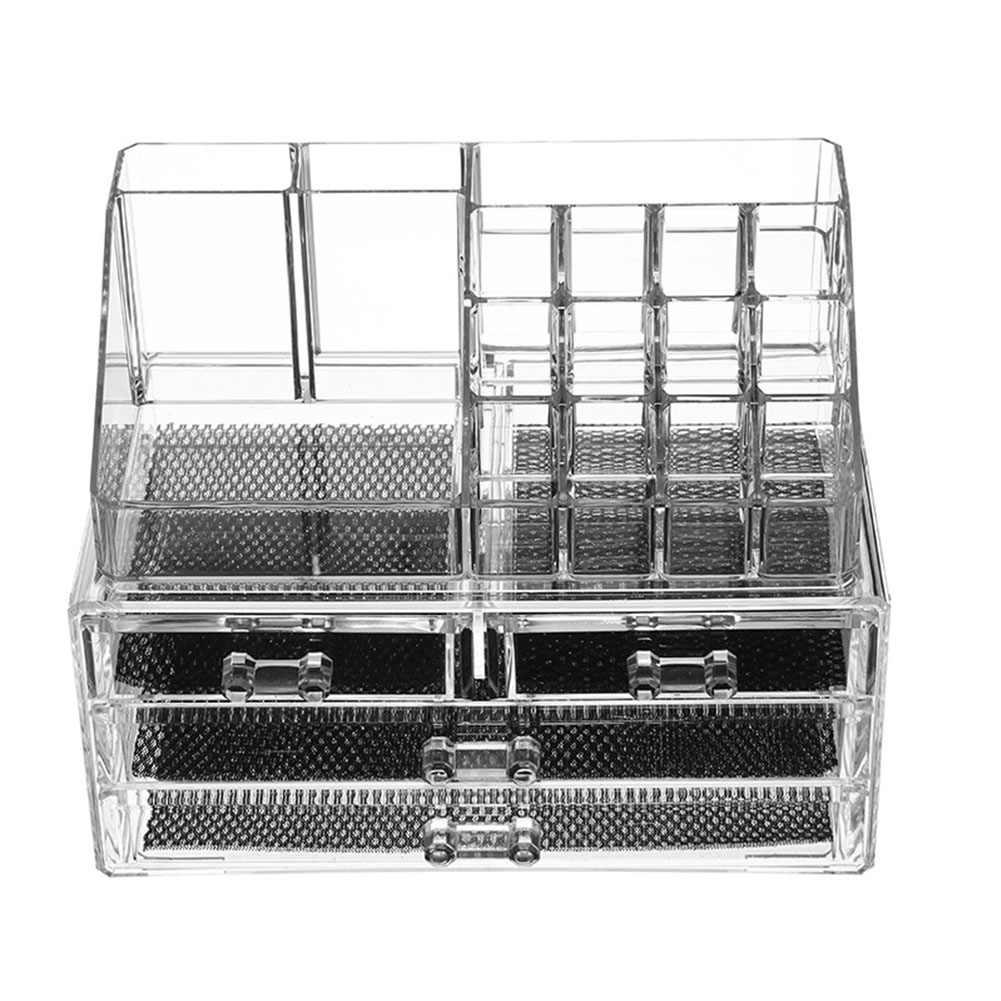 Столешница косметический ящик для хранения Макияж органайзер ювелирных изделий
