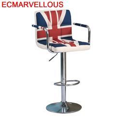 Bancos Moderno Sedie sandalier Stuhl Industriel Cadeira Fauteuil skórzany stołek Silla nowoczesne krzesło barowe na