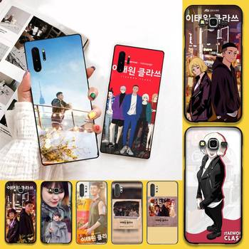 HUAGETOP ins Corea itaewon clase negro TPU suave funda de teléfono para Samsung Nota 7 8 9 10 Lite Plus Galaxy J7 J8 J6 Plus 2018