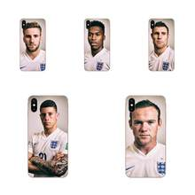 World Cup England Team TPU Pattern For Huawei Nova 2 V20 Y3II Y5 Y5II Y6 Y6II Y7 Y9 G8 G9 GR3 GR5 GX8 Prime 2018 2019(China)