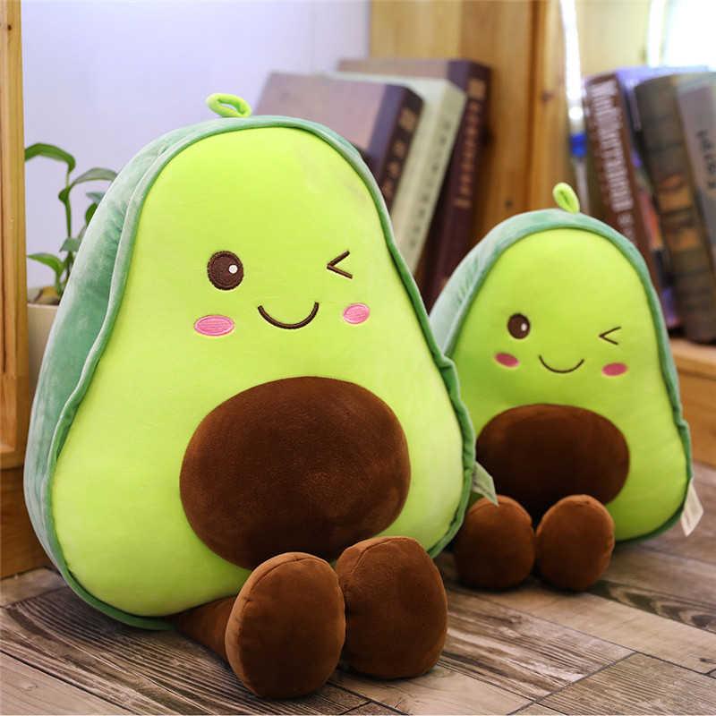 20-85CM חמוד אבוקדו כרית יצירתי ממולא בפלאש צעצוע מלא בובת ספת כרית ילד ילדים ילדה יום הולדת מתנה 3 סוגים