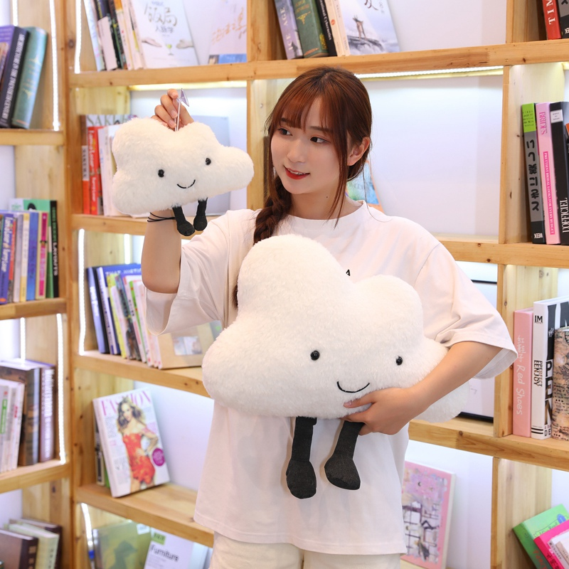 1pc 25CM Cloud Plush Toy Pendant Home Decoration Cushion Sofa Bed Stuffed Dolls Pillow For Kids Children Lover Birthday Gift