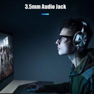 Image 4 - Auriculares estéreo HIFI con conector de 3,5mm, auriculares inalámbricos con bluetooth para música, auriculares con micrófono y tarjeta SD TF para teléfonos inteligentes y tabletas xiaomi