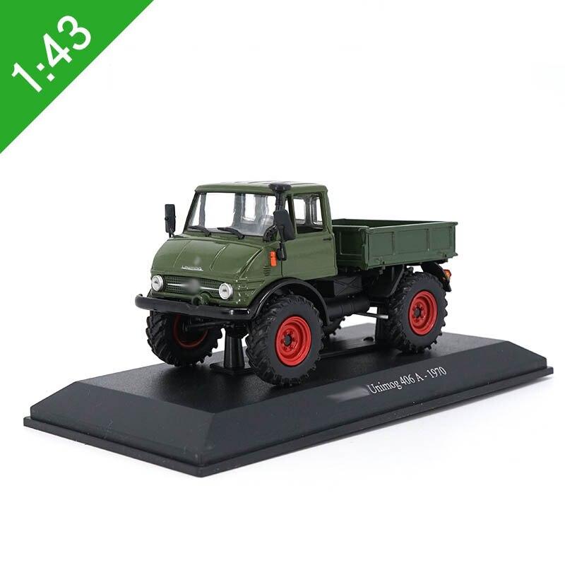 1/43 liga unimog 406a 1970 caminhão caminhão modelo de carro brinquedo morre elenco coleção veículo modelo vehicletoys para crianças