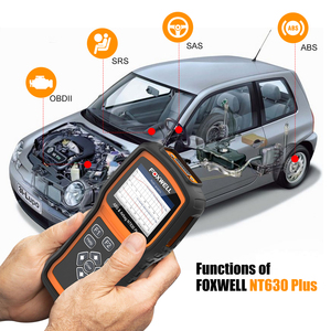 Image 3 - Foxwell NT630 Plus OBD2 Car Diagnostic Tool ABS Bleeding Airbag Reset SAS Calibration Code Reader ODB2 OBD2 Automotive Scanner