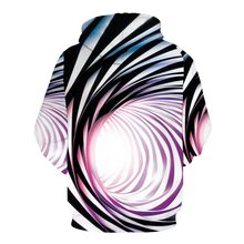 Psychedelic colours Swirl Print Hoodie Sweatshirt Men Women 3D Hoodies Relaxation of leisure Sweatshirts Hoody Tracksuit(China)