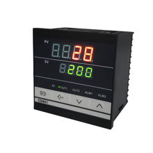 CD901 Professional Digital Temperature Controller PID Dual Display Thermometer Meter Outdoor Thermoregulator with Alarm Relay sestos dual digital pid ac dc 12 24v temperature controller 2 omron relay output d1s