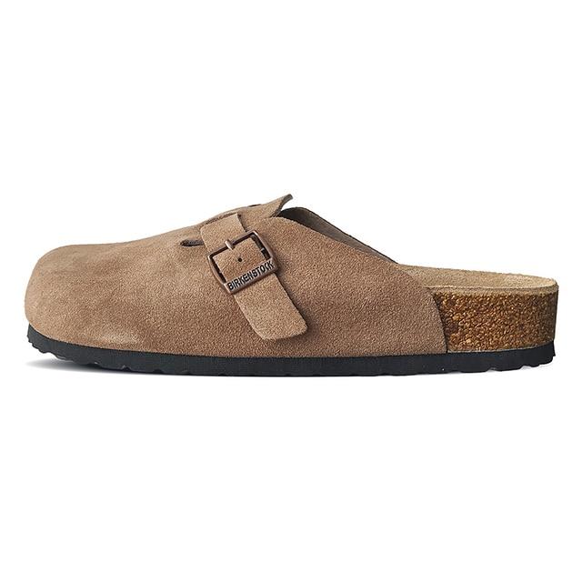 Купить 2020 оригинальная обувь birkenstock унисекс boston прочная модная картинки цена
