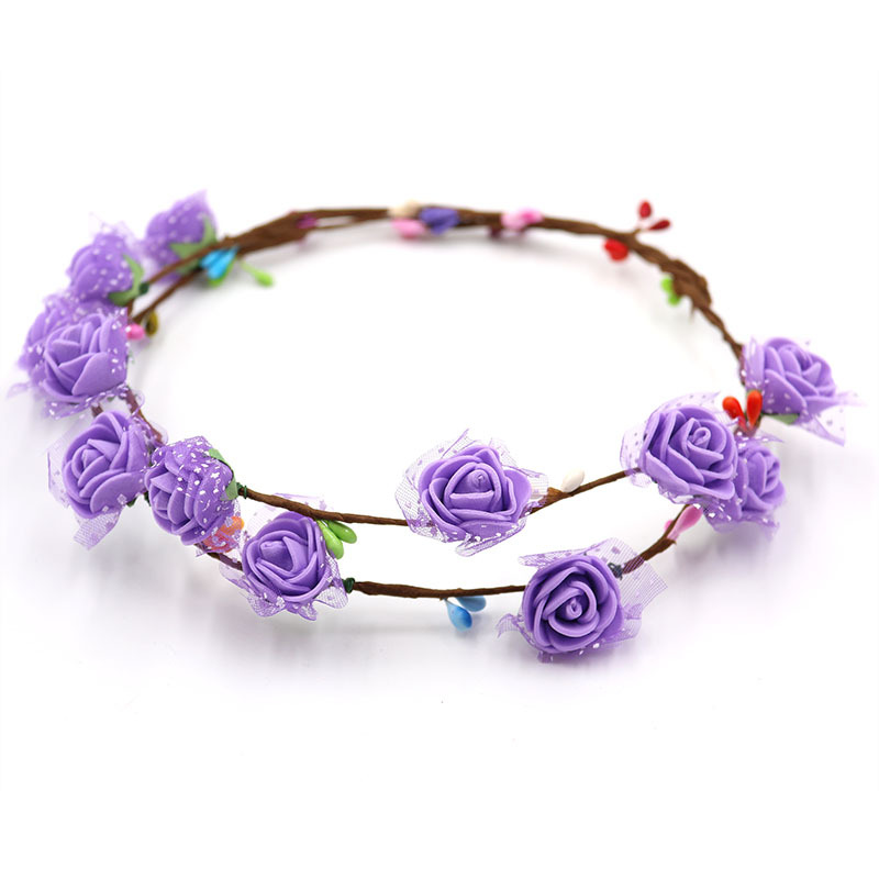 Handmade Garland Headwear Kindergarten Craft DIY Material Package Children's Educational Toy Spring Accessories Bracelet
