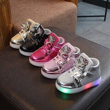 Toddler Glow in the Dark Sneakers 1