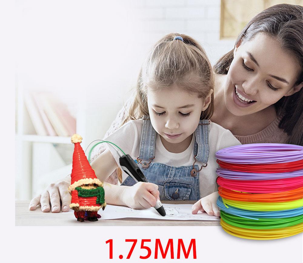 Assortiment Couleurs de filaments PLA 1.75mm pour stylo ou imprimante 3D