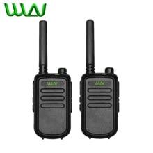 2PCS 100% Original WLN KD C10 Walkie Talkie Uhf 400 470MHz 16 Channel Mini Two Way Radio Station FMR PMR KDC10 Ham Radio Amador