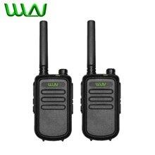 2PCS 100% מקורי WLN KD C10 ווקי טוקי Uhf 400 470MHz 16 ערוץ מיני שתי דרך רדיו תחנה FMR PMR KDC10 רדיו חם Amador