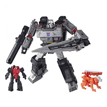 Hasbro Transformers Siege of Cybertron Heat Flow Chain Decepticons Voyager Level Limited Deformation Model Toys Collect Gifts 2