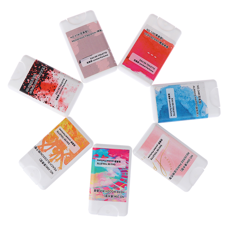 20ml Body Spray Portable Pocket Parfum Women Perfume Lasting Fragrance For Women Men Perfume Flower Flavor Deodorization