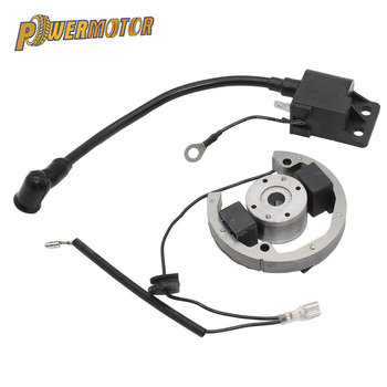 цена на Stator Rotor Ignition Coil Kit Magneto Replacement Ignition Coil Stator Flywheel for KTM50 SX Pro Junior Sr Jr KTM 50 2000-2013