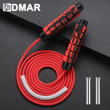 цена на Weight Skip Rope Jump Rope Heavy Adjustable Weighted Ball-Bearing Weavon Cable Foam Handle For Home Gym Crossfit Workouts