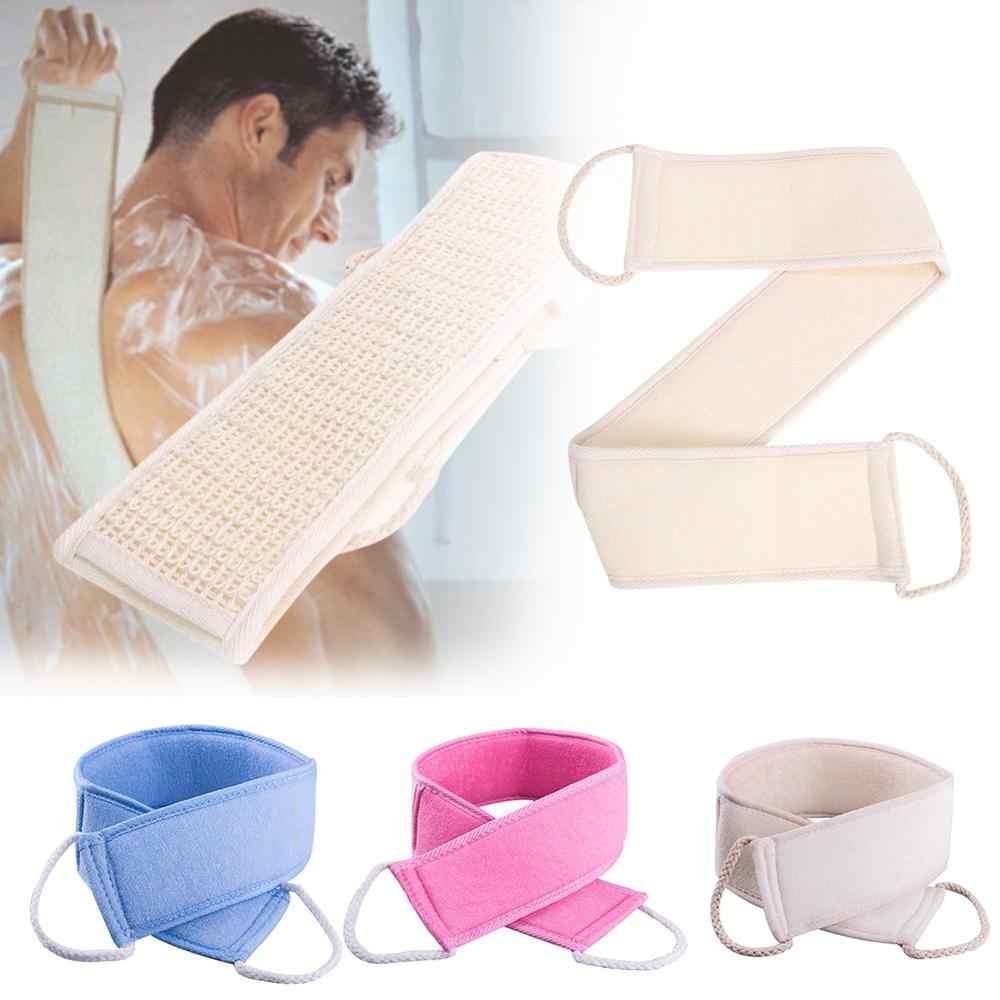 Soft Loofah Back Scrubber Men Women Bath Towel Exfoliating Loofah Massage  for Shower Body Cleaning    - AliExpress