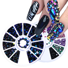 1 Wheel Nail Art Rhi...