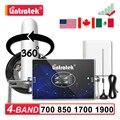 2G 3G 4G сотовый мобильный телефон усилитель сигнала 700 850 1700 1900 GSM CDMA B5 AWS B4 шт B2 1900MHZ повторитель усилитель комплект 70DB AGC