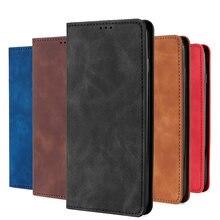 Тонкий кожаный чехол бумажник для redmi k30 k20 go y2 s2 xiomi