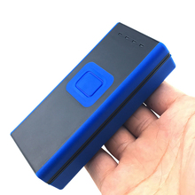 1D Bluetooth CCD wireless barcode scanner,applicable to universal one dimensional code scanning and screen