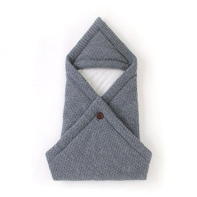 Baby Blanket Infant Cotton Envelop Swaddle Blanket For Newborn Baby Hooded Sleepsack Parisarc Bedding Blankets baby stuff 3