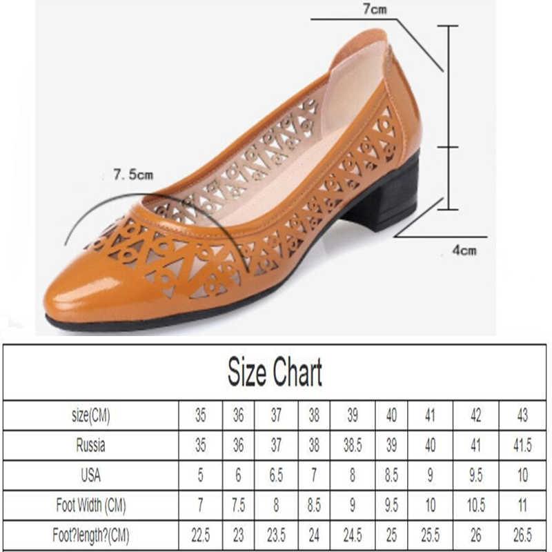 AIYUQI kadın sandalet yaz 2020 sivri moda kadın ayakkabı rahat nefes delik rahat ayakkabılar kadınlar