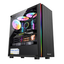 E5 2660/x79 placas-mãe/memória 16 g/480g/rx550 gráficos/montagem/desktop computador host/diy compatível/máquina