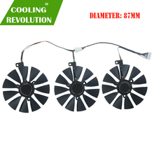 87MM FDC10U12S9 C FDC10H12S9C Graphics Card Cooling Fan for ASUS ROG STRIX ROG STRIX RTX2060 2060S 2070 GAMING