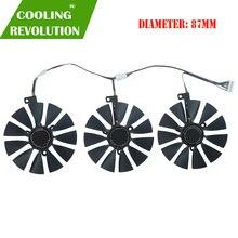 87mm FDC10U12S9 C fdc10h12s9c placa gráfica ventilador de refrigeração para asus rog strix rog strix rtx2060 2060s 2070 jogos