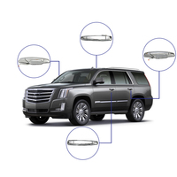 4pcs/set Exterior Door Handle Front Rear Driver & Passenger Side For Cadillac Escalade For Chevy Chevrolet For GMC Sierra Yukon