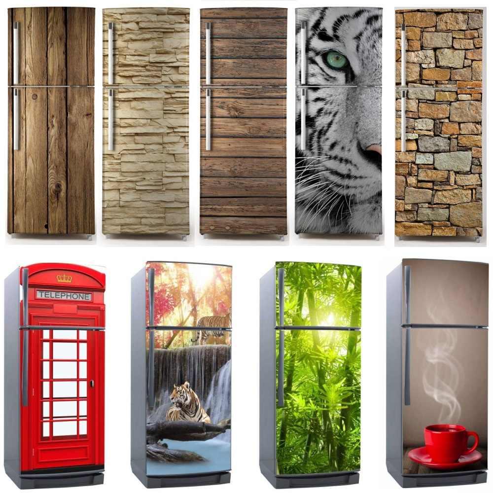 Refrigerator Sticker Fridge Door Decoration Home Wall Room Decor Kitchen Decals