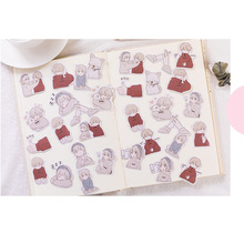 30packs/lot Creative Stationery Kawaii Love Overture Bullet Journal Stickers For Decoration Diary Scrapbooking