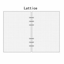 A5/A6/A7 Lattice Planner Diary Insert Refill Schedule Organiser 45 Sheets Note Stationery Office school supplies a5 a6 b5 personal sticky notes assorted diary insert refill organiser sticker