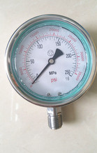 250MPA M20X1.5 High Pressure Fuel System Meter Gauge, 2500bar Common Rail High Pressure Gauge, 250MPA Hydraulic Gauge