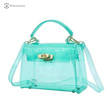 Pabaobao Transparent Shoulder Bag for women 2019 PVC Waterproof Large Capacity Messenger Beach handbag dropship