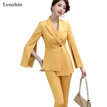 Lenshin High Street Fashion Style 2 Piece Suit Set for Women