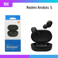 Xiaomi-auriculares inalámbricos Redmi AirDots S, audífonos TWS con Bluetooth 2021, reducción de ruido con micrófono y Control IA, 5,0 originales