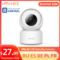 IMILAB-cámara IP de seguridad para el hogar, dispositivo de video de vigilancia con WiFi, 1080P, HD, para interior, funciona con la aplicación IMILAB C20