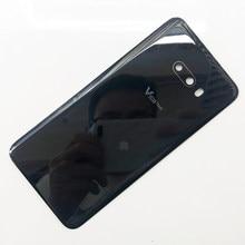 100% original voltar gorilla glass 6 bateria capa para lg v50s thinq v510 5g LM-V510N painel traseiro porta habitação substituição