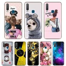 "6.35"" For Vivo Y15 Case Soft Silicon TPU Back cover For Vivo Y11 2019 Case For Vivo Y17 Y15 Y12 Case Y 17 Phone Bumper Bags cute"