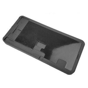 Image 5 - Khuôn Kim Loại Cho iPhone XS Max XR Màn Hình LCD Liên Kết Không Gấp Gọn Flex OCA Cán Cao Su Silicone Lót Điện Thoại Di Động dụng Cụ Sửa Chữa