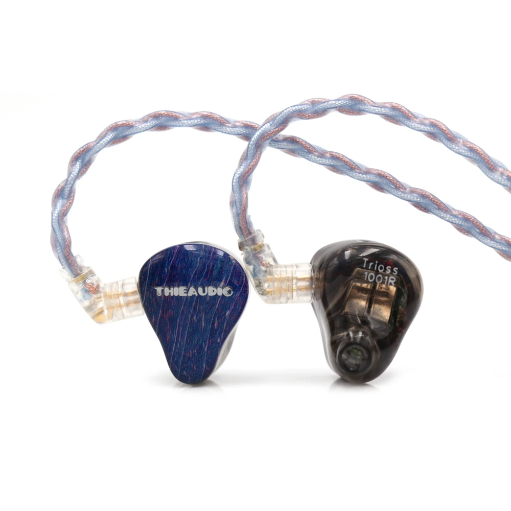 ThieAudio Voyager 3 Triple Balanced Armatures In Ear Earphones With Detachable Cable For Audiophile Musician