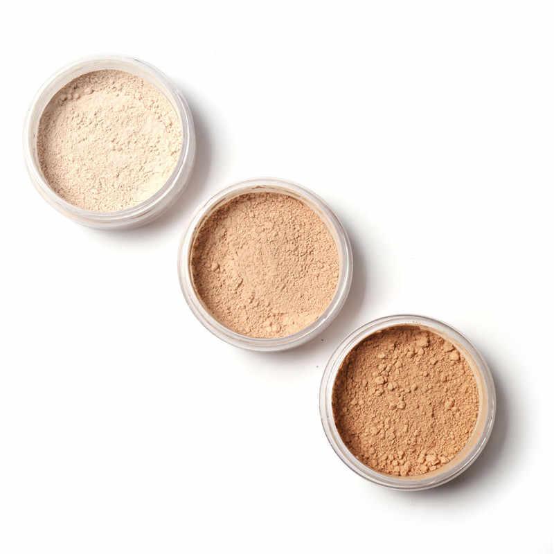 Focallure rosto maquiagem pó solto ultra-leve aperfeiçoando acabamento pó translúcido pó mineral corretivo maquiagem