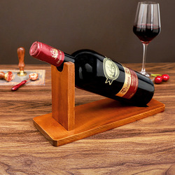 Creative and simple wooden wine stand, home wine cabinet porch TV cabinet, decorative wine wine rack ornaments