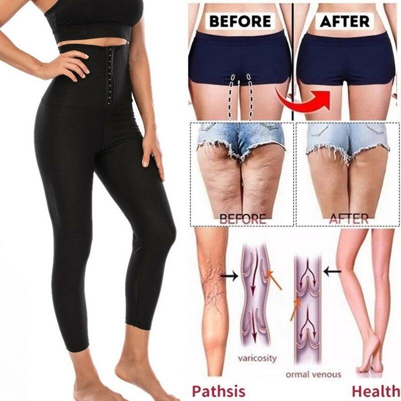 Women Sauna Pants Thermo Sweat Leggings Slimming Body Control Fitness Workout Panties