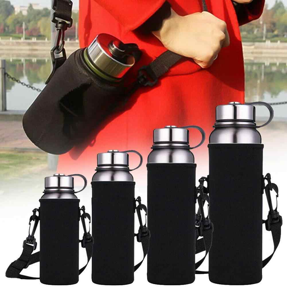 Outdoor Draagbare Sport Water Bottle Carrier Geïsoleerde Beker Cover Bag Holder